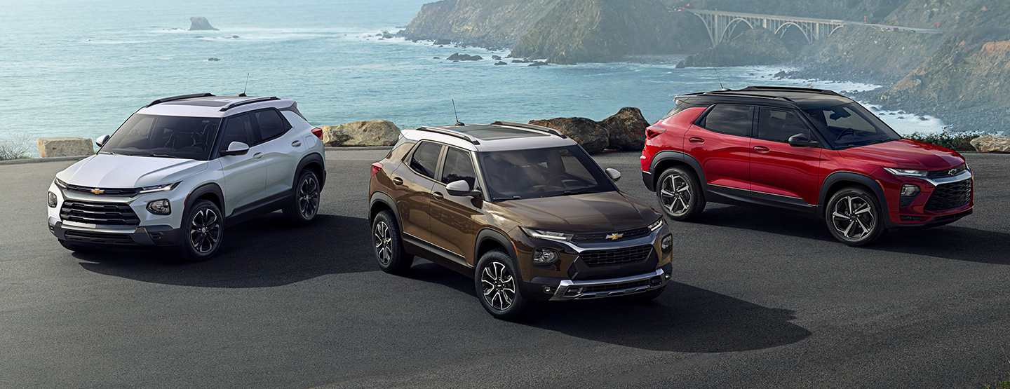 2021 Chevrolet Trailblazer at Healey Brothers