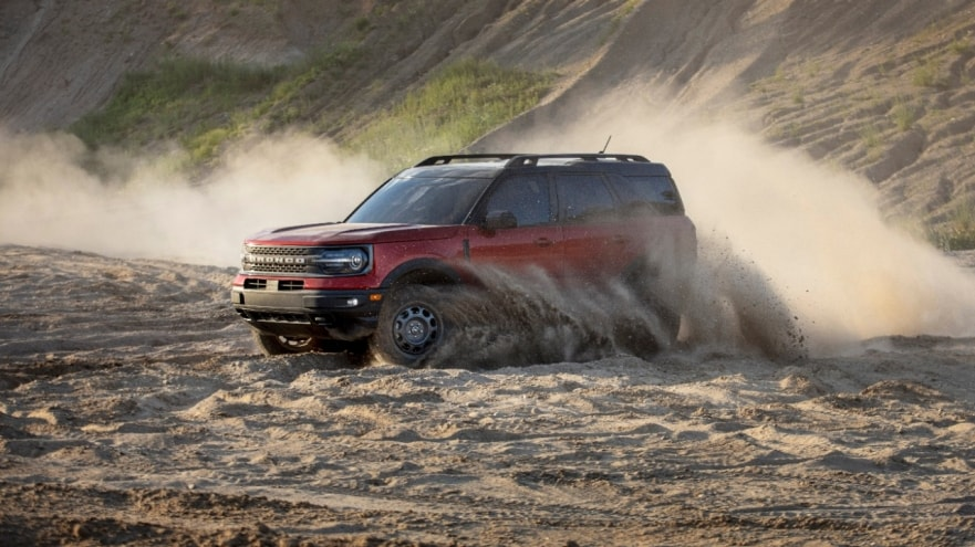 2021 ford bronco sport at Healey Brothers